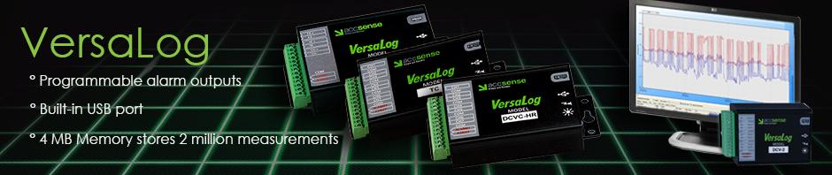 Accsense VersaLog Data Loggers